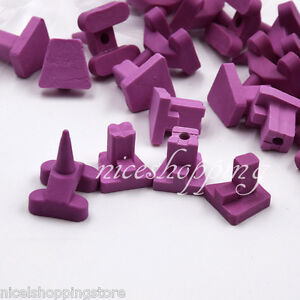 16 Pcs Ceramic Firing Pegs Pges Dental Lab For Porcelain Oven Tray
