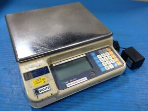 Used Teraoka Weigh Systems Digi Ds 570 Digital Weighing Scale 2000g Max b14
