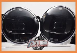 2005 2006 Lincoln Ls Led Fog Lights Clear Replacement Bumper Lamps Pair 5500k