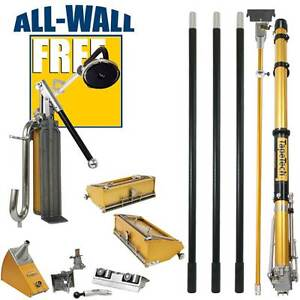 Tapetech Full 14 piece Drywall Taping finishing Set bonus Free Power Sander
