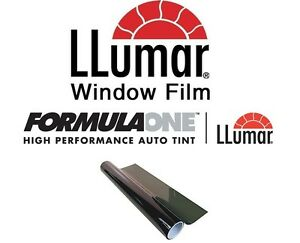 Llumar Formulaone Comfort Series 30 Vlt 20 In X 20 Ft Window Tint Roll