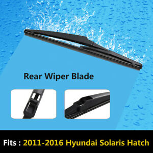 X Autohaux 280mm 11 Rear Windshield Wiper Blade For 2011 2016 Hyundai Solaris