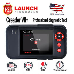 Launch Creader Vii 7plus Automotive Code Reader Obdii Diagnostic Scanner Tool