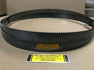 150 12 6 X 1 X 035 X 6t Carbon Band Saw Blade Disston Usa