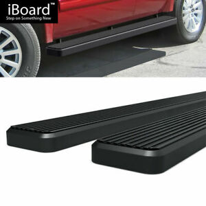 6 Black Eboard Running Boards Fit Chevy Tahoe Gmc Yukon Cadillac Escalade 00 18