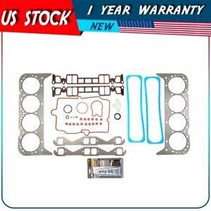 Head Gasket Kit Fits 96 02 Chevrolet Express 1500 2500 3500 5 7l 350cu V8 Vin R