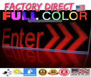 Full Color Rgb dip P10 Led Sign Outdoor indoor Programmable Video u s Factory