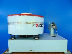Torex Circular Vibratory Deburring Finisher 26 Bowl 8 U Space Table Top