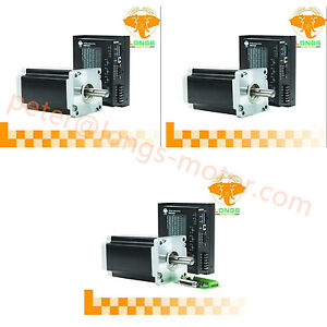 3axis Nema42 Stepper Motor 4120oz in 8a 4wires Driver Controller Dm2722a Cnc Kit