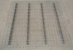 Used 48 X 46 Pallet Rack Wire Decking Waterfall Style Excellent Condition