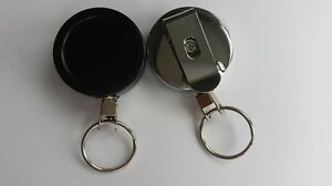 Heavy Duty Retractable Reel Reel Security Pass Card Holder Dallas Key Holder