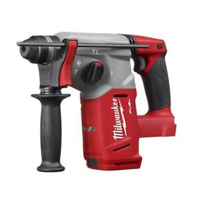 Milwaukee 2712 20 M18 18v Cordless Fuel 1 Sds plus Rotary Hammer bare Tool