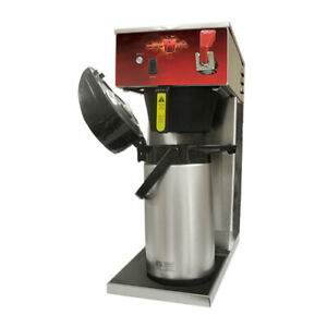 Brew tek Afas Automatic Thermal Airpot Coffee Brewer W Faucet