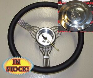 Banjo Blv Banjo Steering Wheel Adapter V8 Horn Button In Black Leather