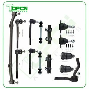 14x Front Tie Rod Ends Sway Bars Ball Joints For 1978 1988 Chevrolet Monte Carlo