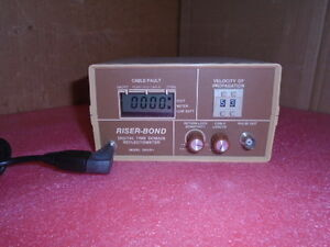 Riser Bond Riserbond Digital Time Domain Reflectometer 2901b Powers Up