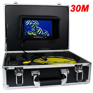 Sewer Pipe Inspection Snake Video Camera System Gsy9200d 30m Pipeline Drain