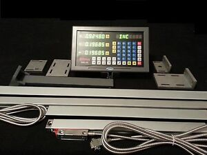 Digital Readout Dro Kit For Mill Lathe Grinder Edm 3 axis Display 3 scales