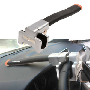 High Quality Alloy Universal Vehicle Car Steering Wheel Anti Theft Security Lock