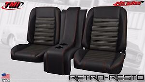 1961 86 Ford Pickup sport R Seat Complete Bucket Seat Kit W Console Custom