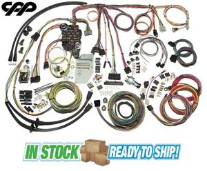 1955 56 Chevy Belair Classic Update American Autowire Wiring Harness Kit 500423
