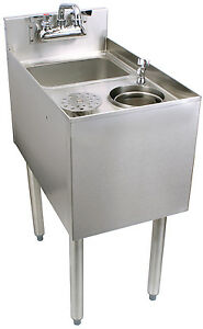 Glastender C mts 14 Stainless Steel Mixology Unit 14