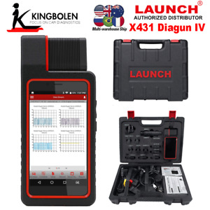 Launch X431 Diagun Iv Universal Auto Diagnostic Tool Code Reader Obdii Scanner