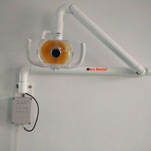 50w Dental Wall Hanging Oral Light Lamp Surgical Shadowless Exam Light With Arm