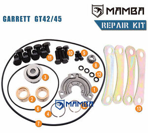 Turbo Repair Kit Garrett Gt45 For Volvo Mercedes Nissan Daf Caterpillar