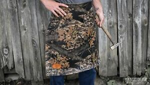 Camouflage Leather Blacksmith Apron