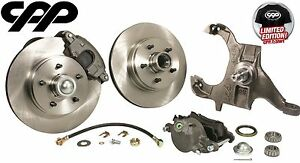 1964 72 Chevy Chevelle El Camino Drop Spindle 12 Disc Conversion Brake Kit