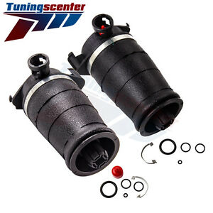 2x Rear Left Right Air Spring Bags For Lincoln Continental Sedan Shock Absorber