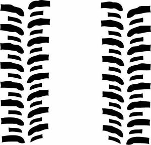 Super Swamper Bogger Tread Decals Off Road 4x4 Jeep Rock Crawler 72 6ft