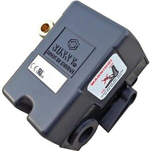 Heavy Duty 25 Amp Pressure Switch For Air Compressor 95 125 Psi Single One Po