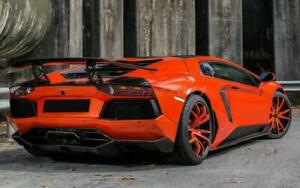 Carbon Kit For Lamborghini Aventador Lp700 Dmcc Molto Velocee Rear Diffuser