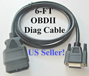 New Obdii Obd2 Cable For Otc J2534 Vci Reprogramming Module Tool Otc 3829 6ft