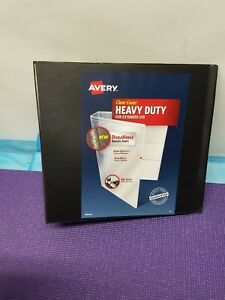 Avery Black 3 670 Sheet Heavy Duty Easy Open 3 Ring Binder 79693 Lot Of 4