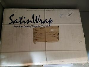Satin Wrap Tissue Paper White Fl 5 Reams 1sw 20 X 30 5r