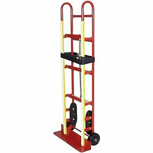 Dollies Milwaukee Hand Trucks 40188 Appliance Truck With Ratchet Belt Tightener