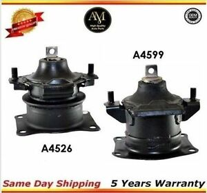 Engine Motor Mount Front Rear 04 08 Acura Rl Tl 3 2l 3 5l