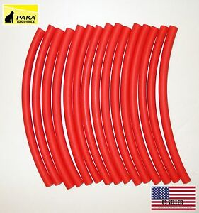 4 Feet 3 8 9 5 Mm Dual Wall Red Heat Shrink Tubing 3 1 Glue Lined Tubes