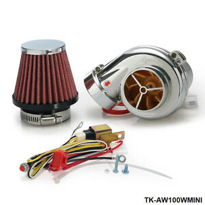 Electric Electrical Turbo Turbocharger Supercharger Kit For Motorcycle