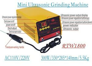 Ultrasound Grinding Machine Metal Surface Lapping Grind Spark Mould Polishing