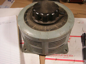 Variac Type 136 Powerstat Autotransformer Tested Guaranteed
