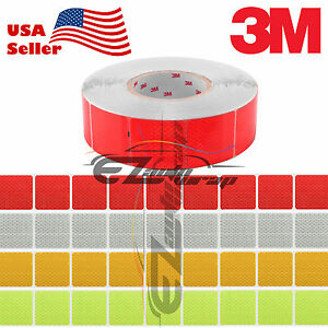 3m Diamond Grade Conspicuity Tape 2 X 2 Ce Approved Reflective Safety Sign