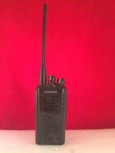 Kenwood Nx320 K Uhf Nexedge Radio With Charger