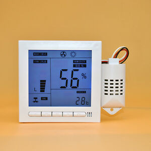 Fs945 Pc Intelligent Digital Humidity Temperature Fantastic Controller 110 240v