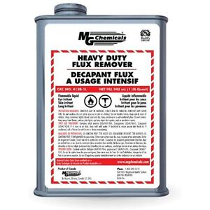 Mg Chemicals Heavy Duty Flux Remover Liquid 1 Quart Can New