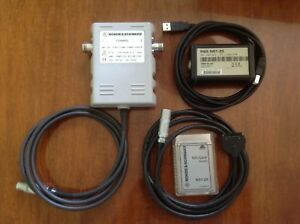 Rohde schwarz Directional Power Sensor Nrt z44 With Adapters Nrt z5 Nrt z4