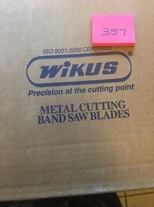 Bi Metal Band Saw Blade 035 X 1 1 16 X 12 6 5 8pitch 2pcs Wikus